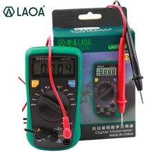 LAOA LCD Automatic range Electrical Tester Digital Multimeter Multimetro AC/DC Amperemeter Voltmeter LA813302