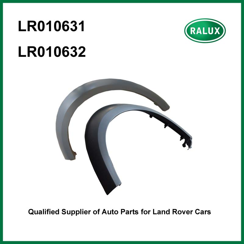 LR010631-RH LR010632-LH front right or left car wheel arch moulding for Land Range Rover LR Discovery 3/4 Mudguards auto fender 50x for land rover discovery 3 4 range rover sport door moulding wheel arch clips