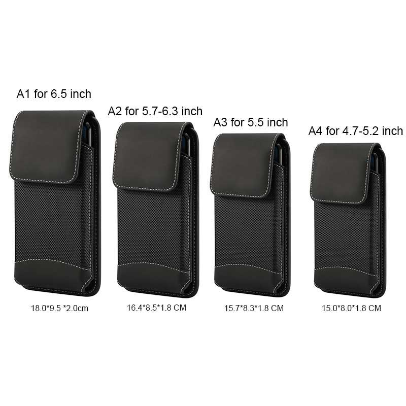 Universal 4.7-6.9 inch models cellphone Waist Bag for Nokia 6 Pouch Holster for LG ASUS Xiaomi Redmi Belt Clip phone Case
