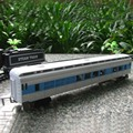 Sale 1 pcs Rail train cars railroad rail train  toys for children, extended cab accessories