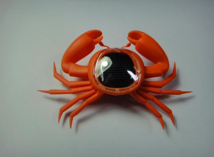 Kid Solar Energy Powered Toy Mini Kit Novelty Power Crab Robot Educational Gadget Toy For Baby Solar Toy