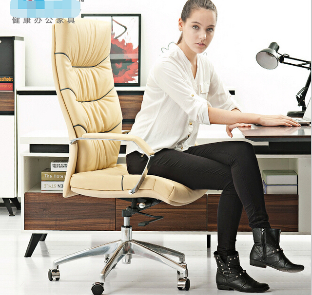 Ms Leather Computer Chair O Ffice Women President
