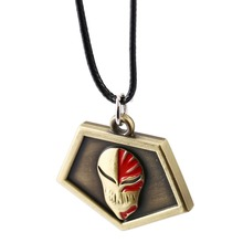 Bleach Anime Necklace Kurosaki Ichigo Pendant Men Women Jewelry Anime Accessories