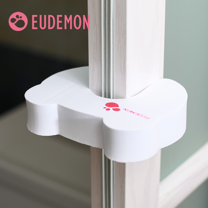 EUDEMON Baby Safety Door Stop Finger Pinch Safety Guard Baby Helper Door Stop Finger Pinch Guard Lock Tight Type