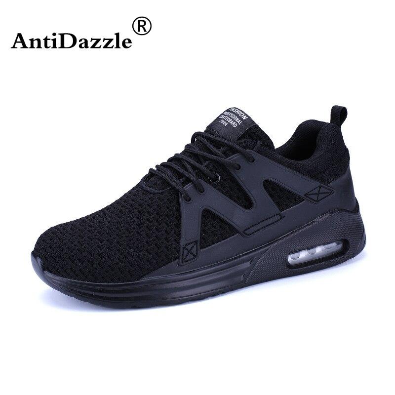 Sneaker Homme Noir Chaussures de Course Confortable qoeCY