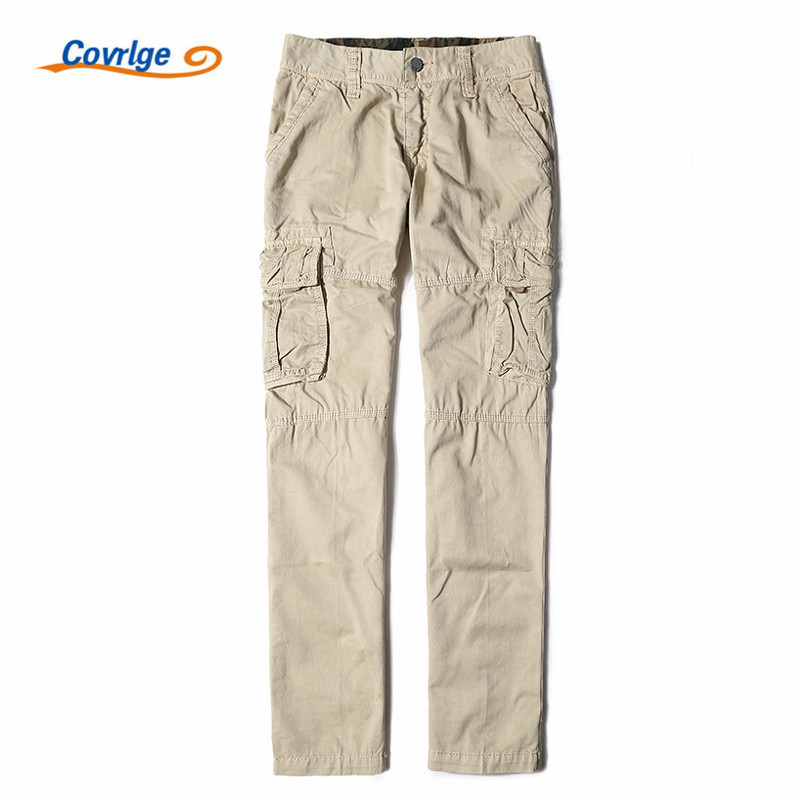 Covrlge Mens Trousers Fashion Men Cargo Pants Military Style Tactical Clothing Work Wear Cheap Male Clothing Coveralls MKX008