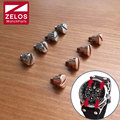 4pieces/set  watch lug screws for Tag Huer Mclaren Lacivert F1 Kasa celik watch band/strap/belt  fix screw (rose gold/silvery)