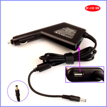 19V 4.74A 90W Laptop Car DC Adapter Charger + USB(5V 2A) for Lenovo F30 F31 F40 F41 F50 F30A F40A F50A F31A F41A
