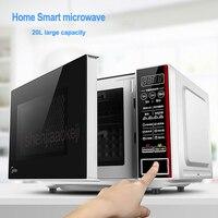 M1 L202B microwave oven household intelligent multi functional home use mini Falt Plate 220v 700w 1pc