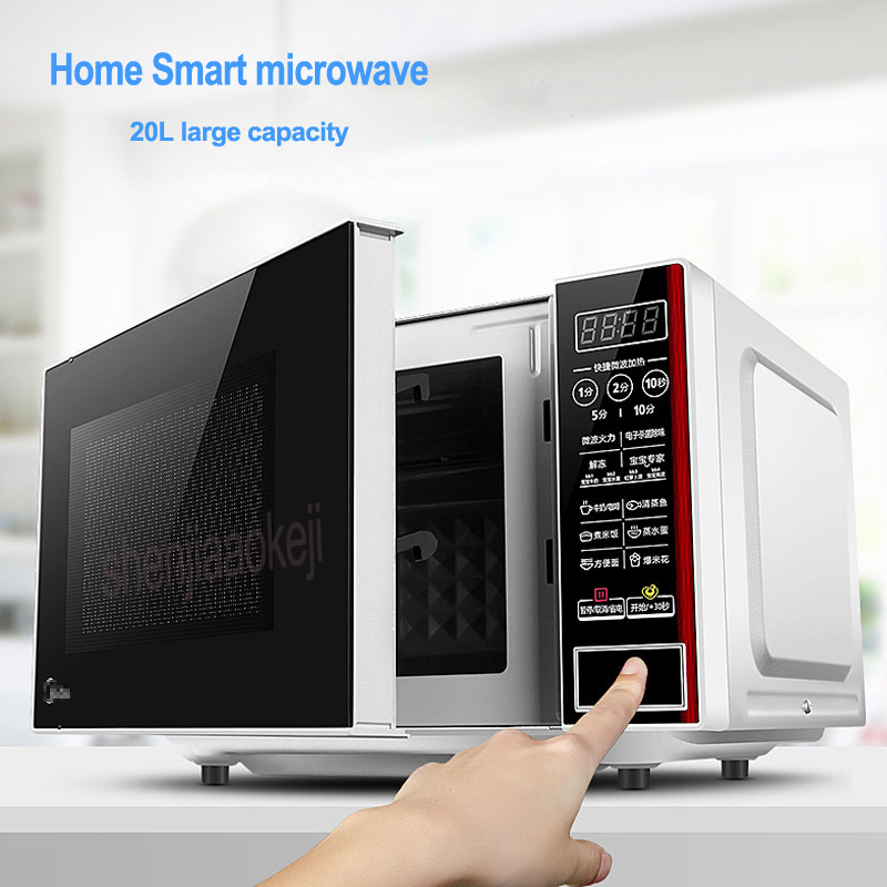 M1-L202B microwave oven household intelligent multi functional home use mini Falt-Plate 220v 700w 1pc