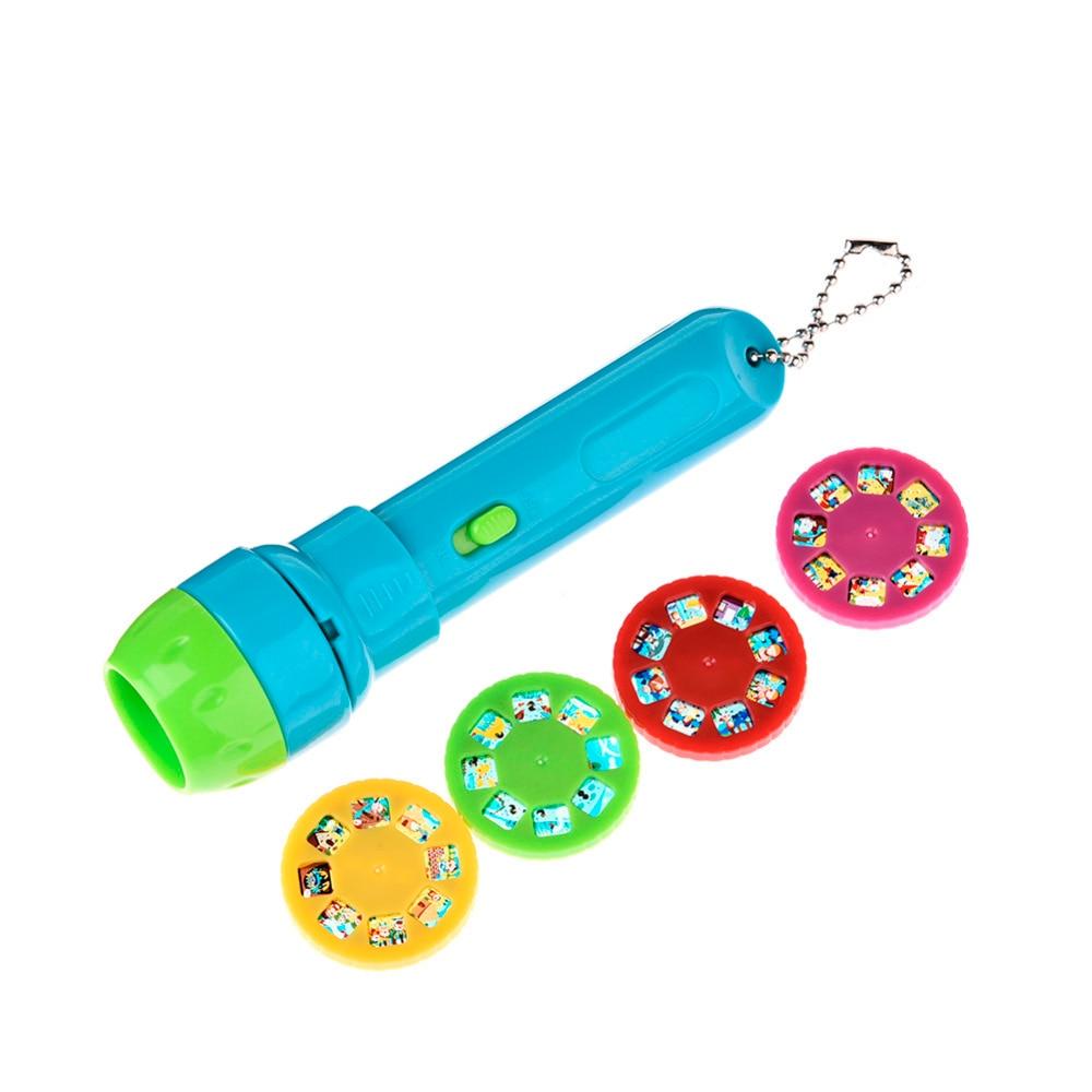 New Creative Children kids Submarine Projector Flashlight Star Sky Projecton Lamp Coax Baby Sleep LED Luminous toys