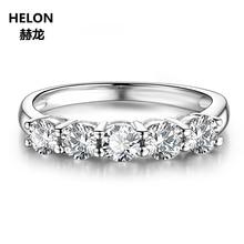25c45e3540c0 Céltico anillo sólido 14 K oro rosa 3mm redondo VVS F-G laboratorio crecido