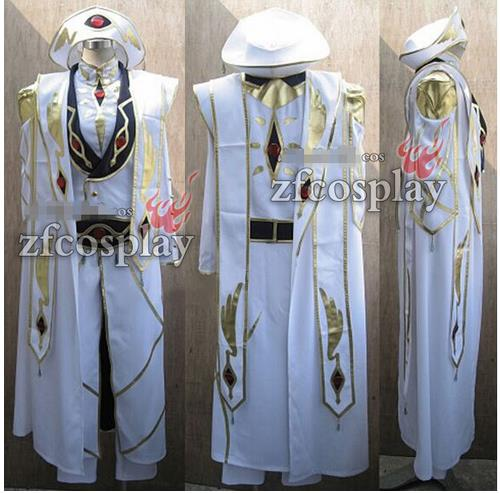 Costumes & Accessories Code Geass R2 Schneizel El Britannia Party Anime Clothing Uniform Cosplay Costume Blue Full Set Women's Costumes