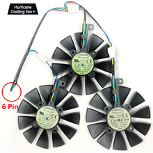 New 87MM T129215SU Graphics Card Cooling Fan for ASUS STRIX GTX 1060 1070 1080 1070Ti 1080Ti 980Ti /R9 390X R9 390 RX 480 580