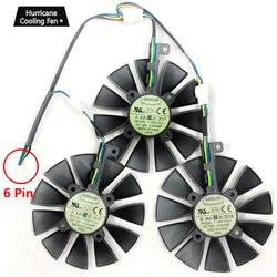 Nowy 87 MM T129215SU karta graficzna chłodzenia wiatrak do Asusa STRIX GTX 1060 1070 1080 1070Ti 1080Ti 980Ti/R9 390X R9 390 RX 480 580