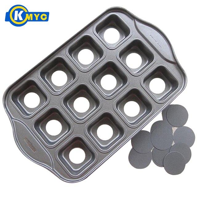 KMYC Carbon Steel Nonstick Cake Pans Egg Tart Mold Tray Springform
