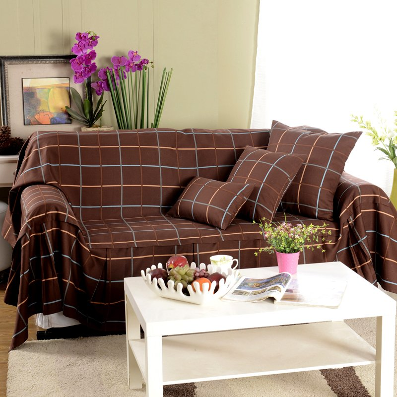 Plaid furniture awesome image description image - Plaid para sofa ...