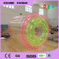 Бесплатная доставка 2.2 м надувной Гуляя воды ролик надувной rollong Мяч Zorb