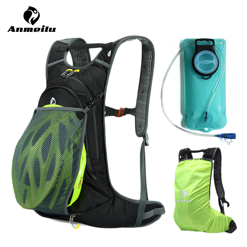 ФОТО ANMEILU Bicycle Bags Sports Water Bags Bladder 2017 MTB Road Bike Bags Pannier Basket Backpacks Men Women Cycling Accessories