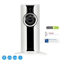 720P Mini IP Camera WIFI Mobile Monitor 1 0MP TF Wireless Indoor CCTV Audio PTZ 180