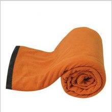 Fleece sleeping bag summer and winter camping sleeping bag sleeping bag liner portable air conditioning was