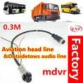 Fabrik direkt anzahl von fahrzeugüberwachung air drag kopf audio linie monitor draht MDVR verlängerungskabel pickup truck|Getriebe & Kabel|Sicherheit und Schutz -