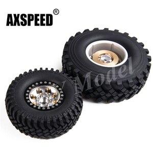 4Pcs RC Crawler Alloy Wheel Ri