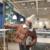 Roupas de inverno Mulheres Moda Boneca Com Roupas Grossas de Algodão-acolchoado Obter Fio De Seda Coringa Relaxado Pão Curto Algodão-Casaco acolchoado