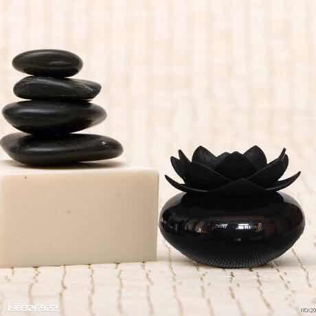 Ev Aletleri'ten Nemlendiriciler'de Yeni yaratıcı zen lotus nemlendirici  arındırıcı hava ultra sessiz aromaterapi yağı difüzörü uygun ev ve ofis kullanımı için title=