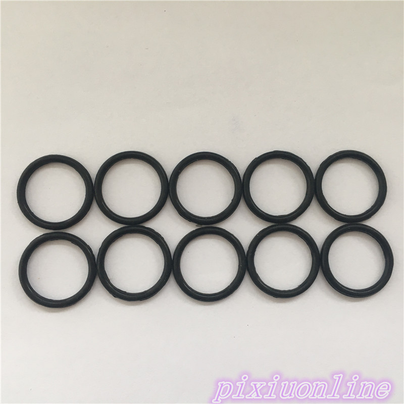 1Set Rubber Pulley Belt Transmission Belt Fine Belt Model DIY Toy Belt Package