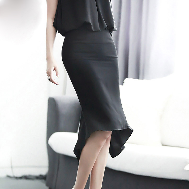 High Quality Black Maxi Pencil Skirt-Buy Cheap Black Maxi Pencil ...