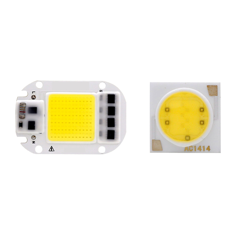 LED COB Chip 20W 30W 50W 3W 5W 7W 9W 12W 15W 18W 110V 220V Smart IC Light High Lumen Chip For DIY LED Floodlight Soptlight Bead