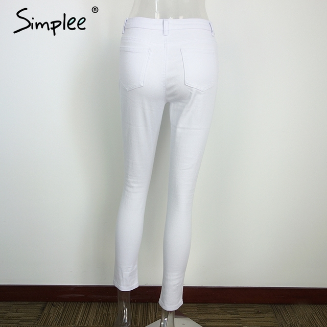 Ripped High Waist Jeggings