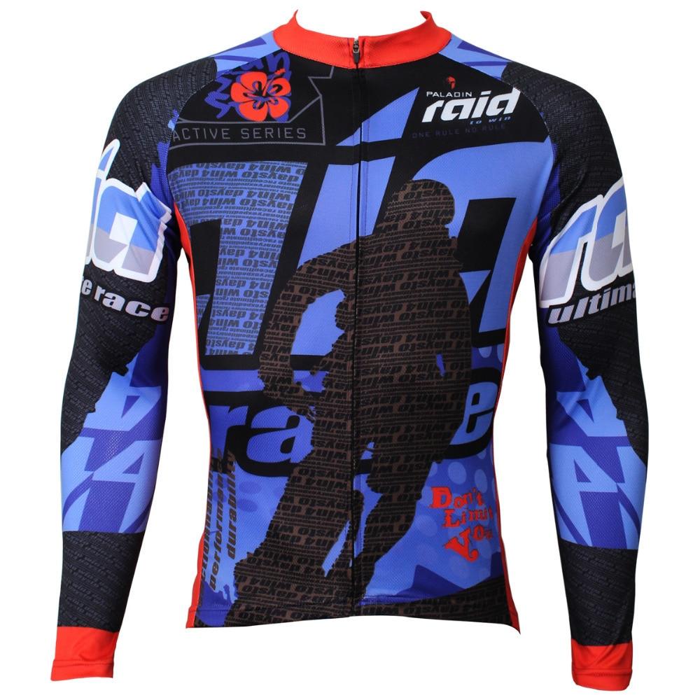 Novinka Neomezujte vás Muži Cyklistický dres s dlouhým rukávem - Cyklistika