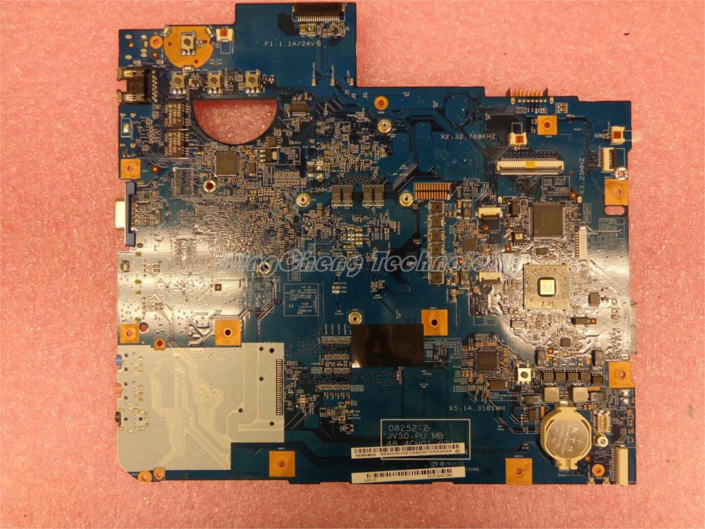 SHELI laptop Motherboard for ACER 5536 48.4CH01.021 08252-2 JV50-PU integrated graphics card 100% fully tested