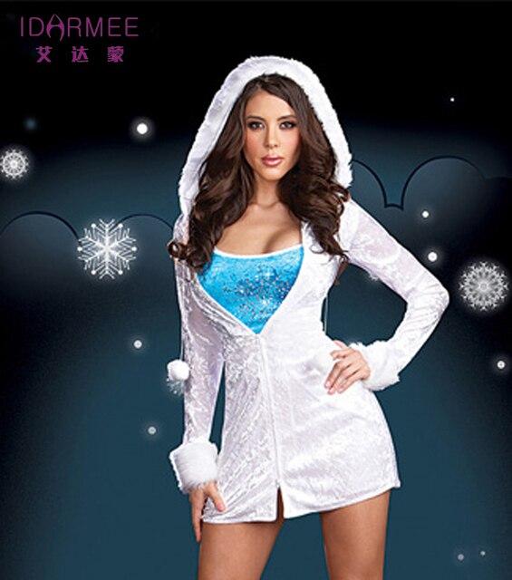 womens christmas costume sexy snowflake Santas