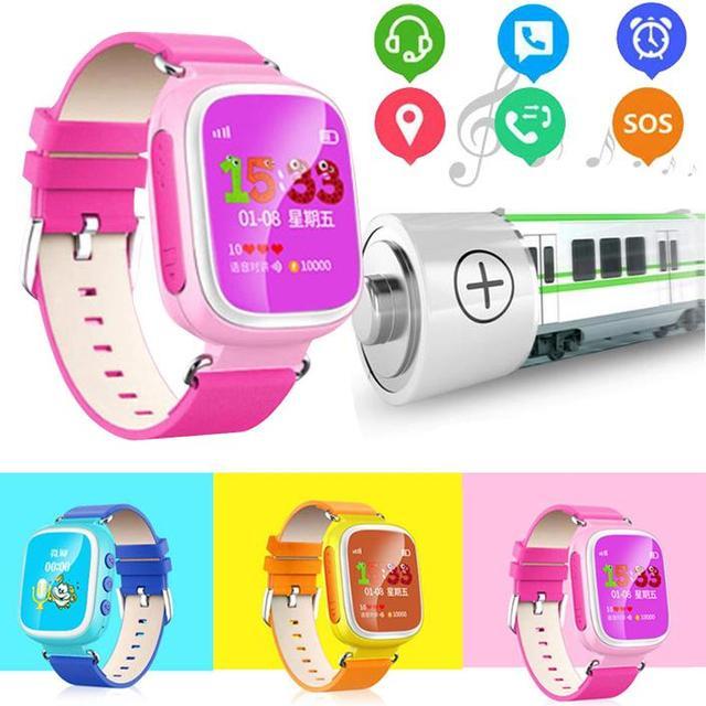 Q80 smart watch pulseira relógio crianças safe kids location finder localizador monitor de bebê conectar telefone para android iphone