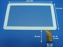 """Nuevo 9 """"50PIN panel táctil Para LOGICOM S932 (M909) MPMAN MPDC9000 panel de la pantalla táctil Sensor de Cristal de Reemplazo Envío Gratis"""