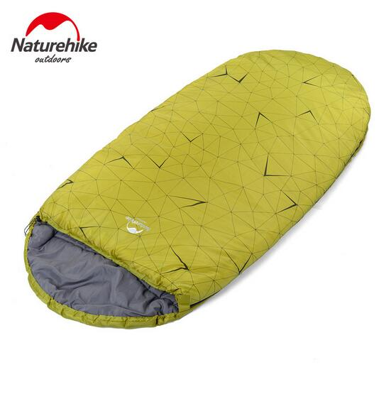 NH outdoor camping sleeping bag adult queen widened thickened warm winter indoor sleeping bag lunch break single person nh outdoor camping indoor lunch adult sleeping bags of ultra light warm seasons can be spliced herringbone cotton bag