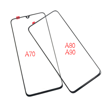 50pcs/lots For Samsung Galaxy A70 A80 A90 M10 M20 Screen Touch Panel Outer Glass