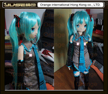 Top quality 130cm japanese real life sex dolls,anime vocaloid hatsune miku sex pillow doll,life size flat chest love doll,ST-070