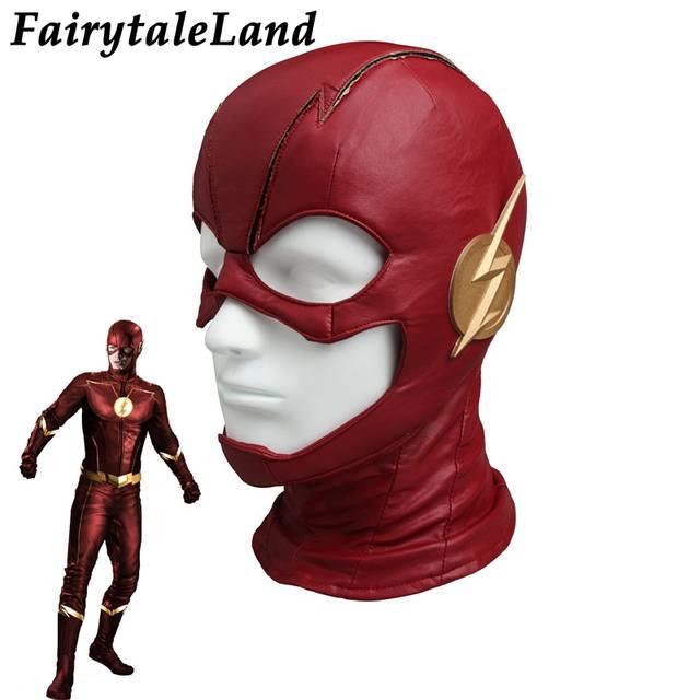 3a8ac9ad6bf1 placeholder Il Flash Maschera di Carnevale di Halloween accessori costume da  Supereroe Cappello Flash Stagione 4 Maschera