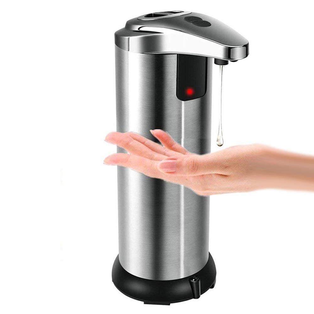 Automatic Liquid Soap Dispenser Smart Sensor Touchless Kitchen Cleaner Disinfectant Bathroom Shampoo Shower Gel Dispenser