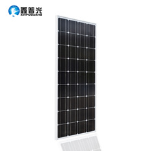 18v Glass Solar Panel China 100w Monocrystalline Silicon Top Quality Photovoltaic 12v Battery House Solar Cell