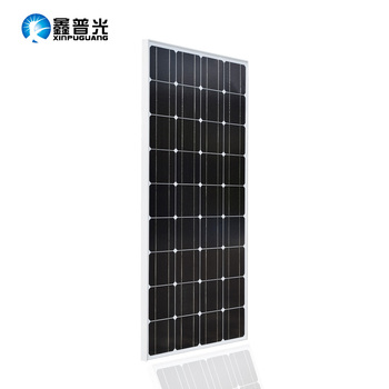 Glass Solar Panel 18V 100w Monocrystalline Top Quality Photovoltaic 12v Battery House Solar Cell solarpanel Sonnenkollektor