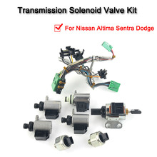 JF011E RE0F10A F1CJA Valve Body Solenoid Kit For Nissan Altima Sentra Dodge 33510n 02 cvt jf011e re0f10a f1cja pump flow control valve