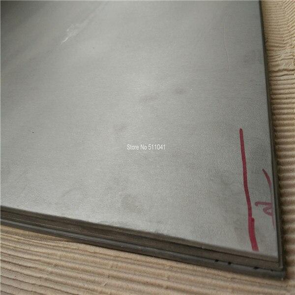 Plaque/feuille en alliage de titane Gr5 Ti 6al4v, épaisseur 5.5mm, livraison gratuite