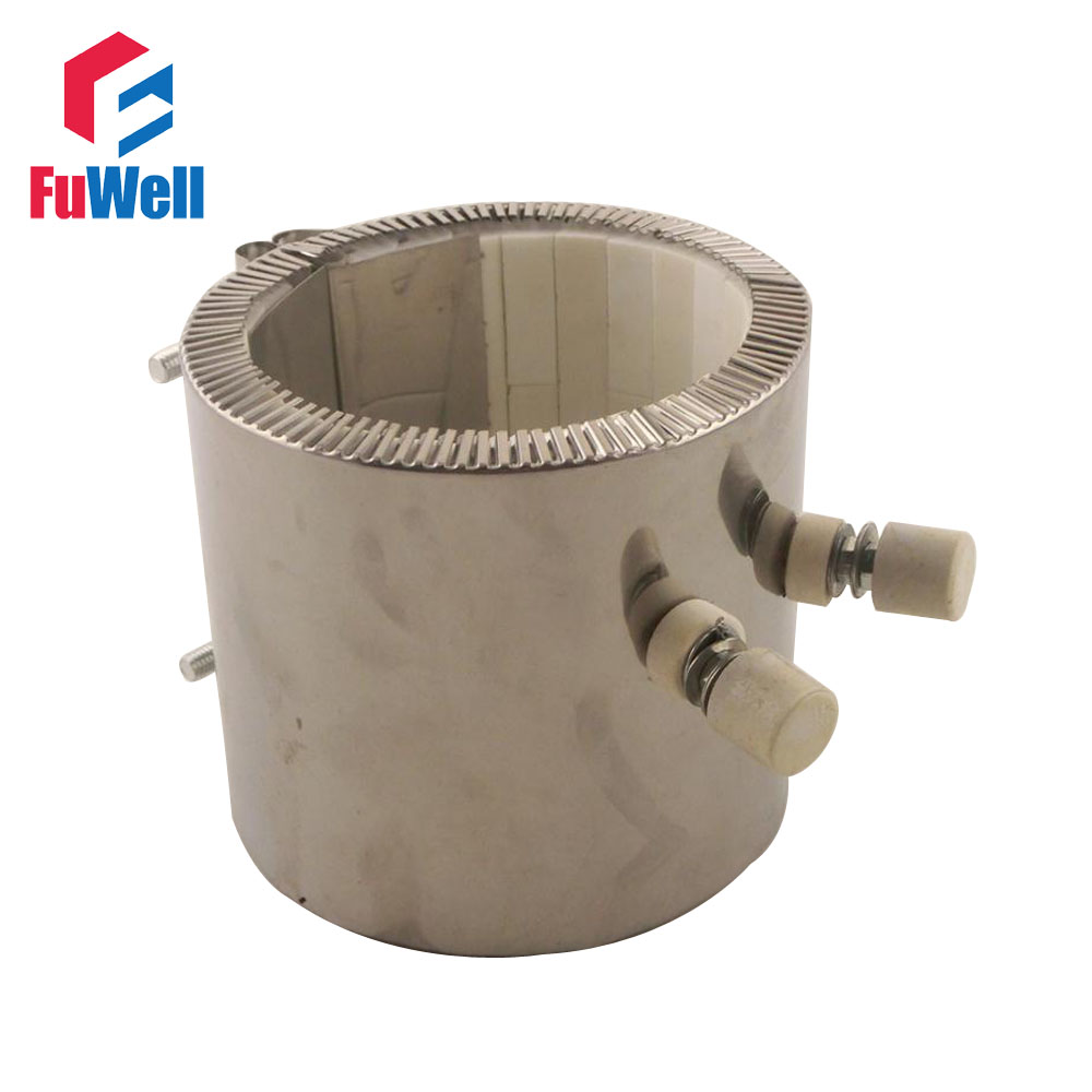 Elettrico Riscaldatore a Fascia In Ceramica 100*90mm (ID * H) 220 V 1400 WElettrico Riscaldatore a Fascia In Ceramica 100*90mm (ID * H) 220 V 1400 W