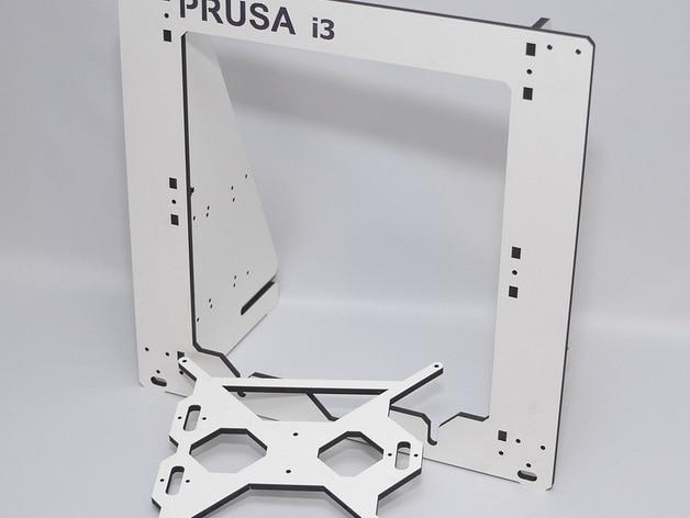 Funssor Reprap Prusa i3 Aluminium composit Upgrade frame kit 6mm ...