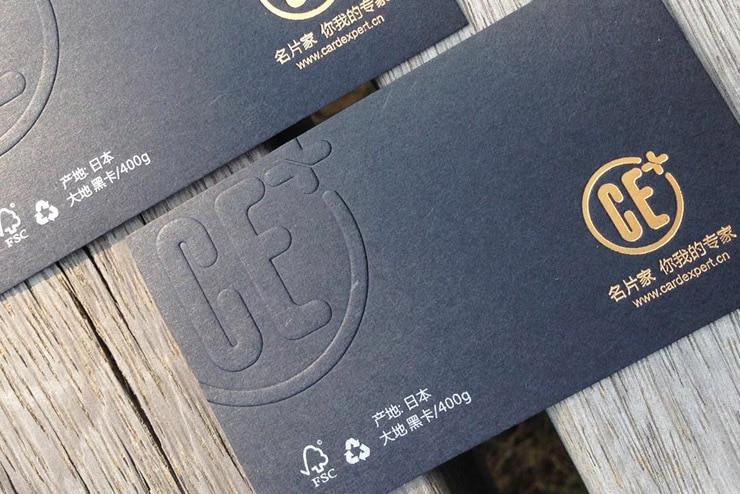 Us 99 0 400gsm 90x54mm Spezialität Schwarz Papier Karten Schwarz Rand Papier Karten Druck Mit Goldfolie Logo Silber Texte In Visitenkarten Aus